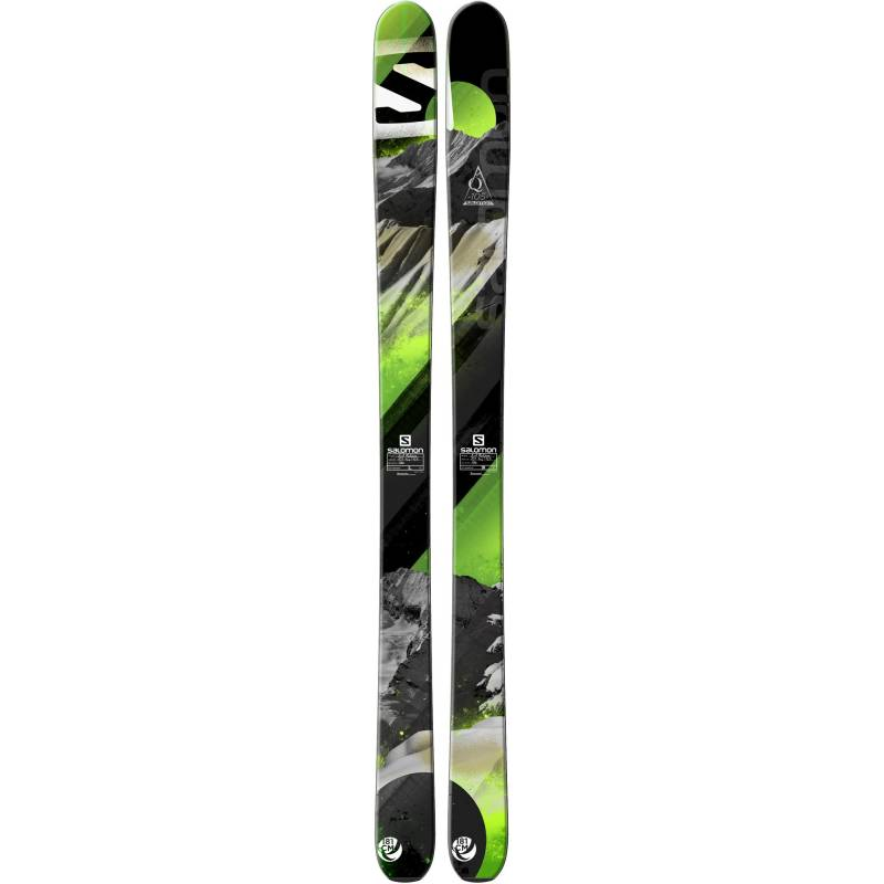 Salomon N Q-105 Black/Green 13/14
