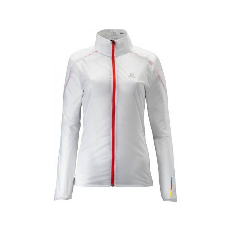 Salomon S-LAB LIGHT JACKET W White
