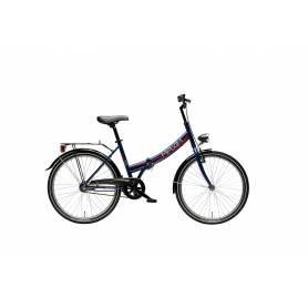 """Rower MAXIM 24"""" MC steel 0.1 (15"""") niebieski"""