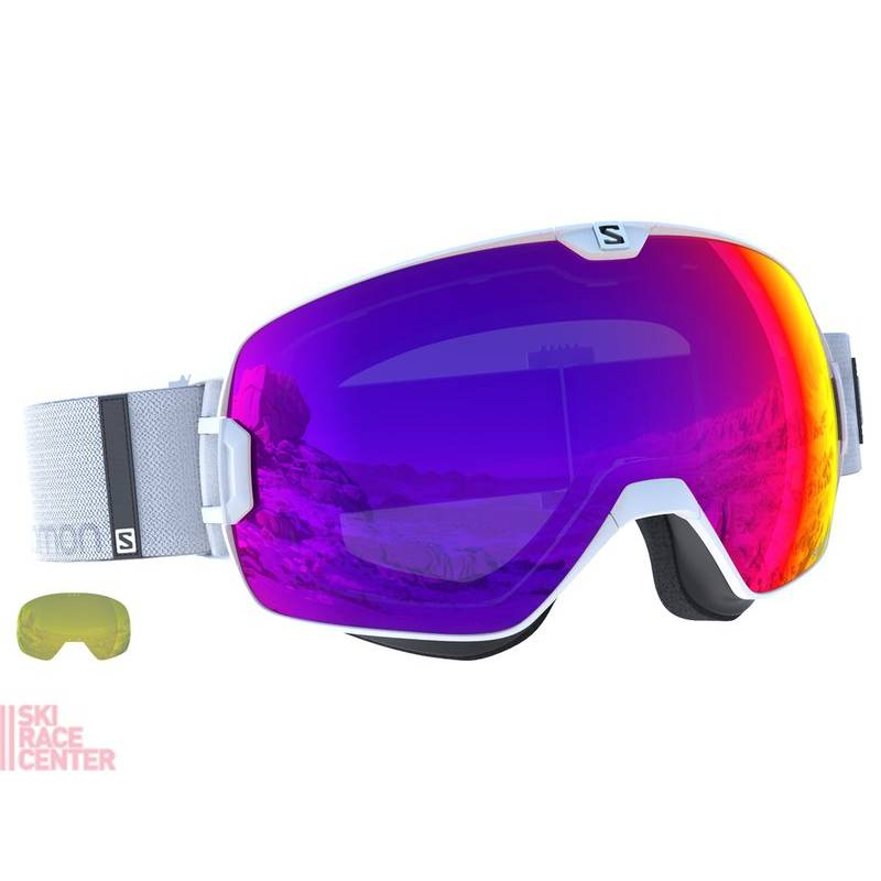 Salomon XMAX White/Solar Infrared !17