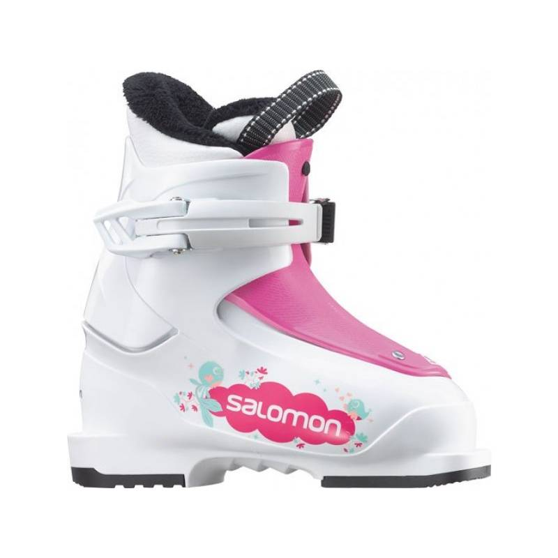 Salomon T1 Girly White/Pink 15/16