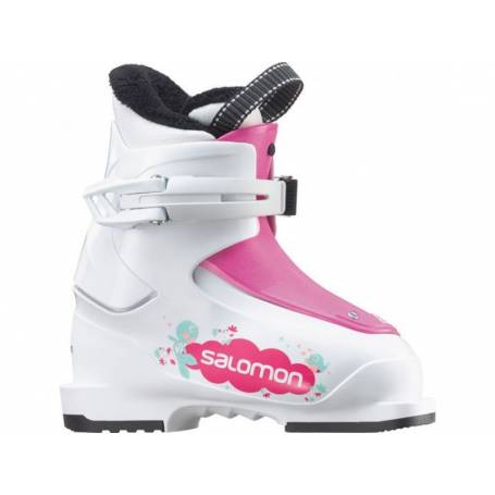 Buty Salomon T1 Girly White/Pink 15/16