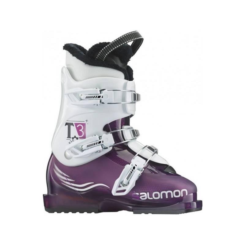 Salomon T3 GIRLIE RT PurpleTransluce/WH 15/16