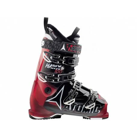Buty Atomic HAWX 100 Transparent Red/Black 15/16