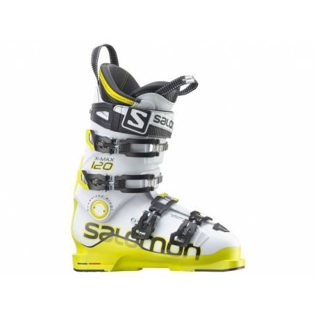 Buty Salomon X MAX 120 WHI ACIDE GREEN 14/15