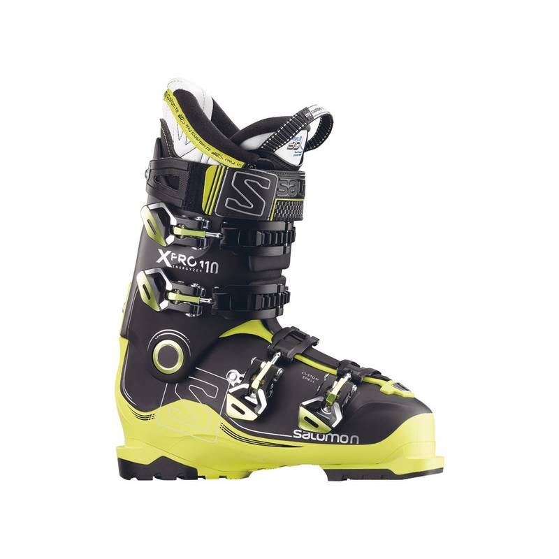 Salomon X PRO 110 Black/ACIDE GREEN/Ant 16/17
