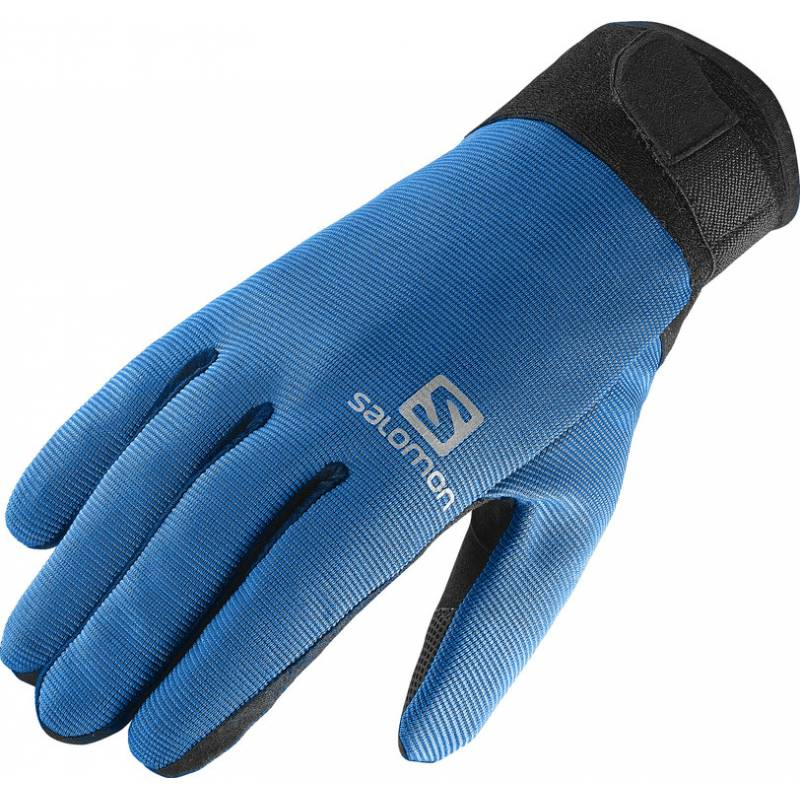 Salomon DISCOVERY GLOVE M BLACK/UNION BLUE 15/16