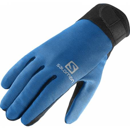 Rękawice Salomon DISCOVERY GLOVE M BLACK/UNION BLUE 15/16