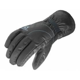 Rękawice Salomon FORCE DRY W BLACK/Kouak Blue 16/17