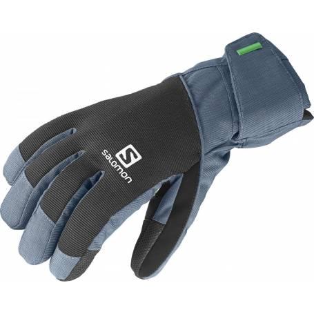 Rękawice Salomon ELEMENT GTX® M BLACK/BLEU 14/15