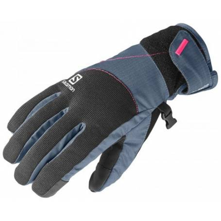 Rękawice Salomon ELEMENT GTX® W BLACK/BLUE 14/15