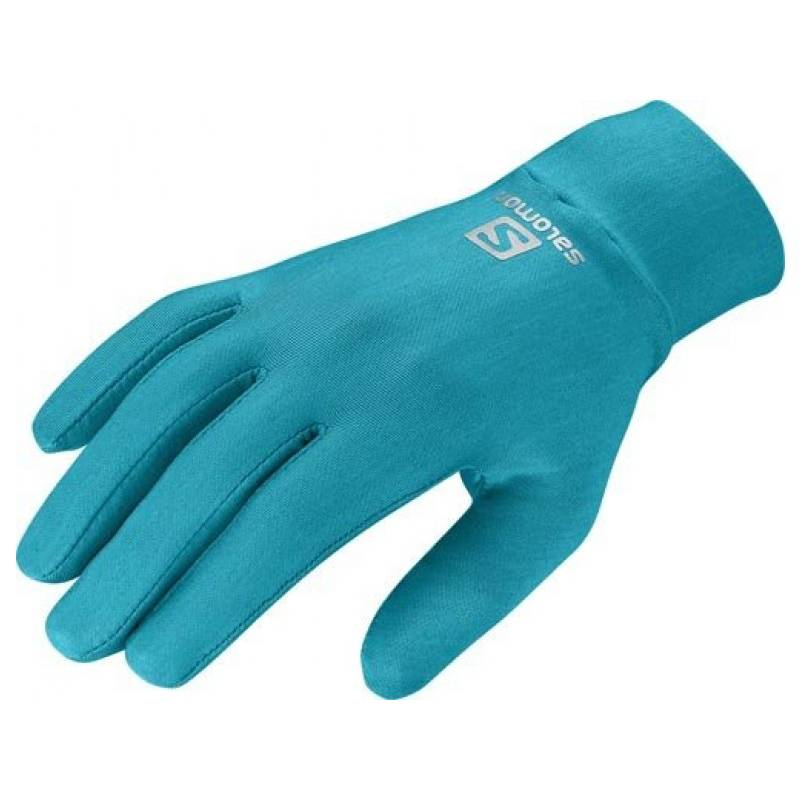 Salomon RUNNING GLOVE U SCORE BLUE 2014