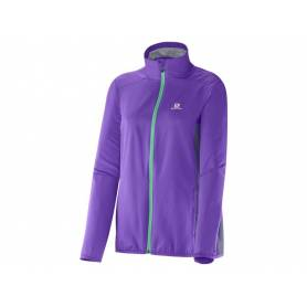 Salomon START JACKET W LITTLE VIO/ARTGREY