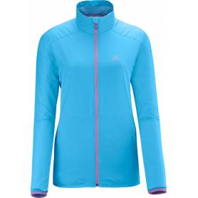 Salomon START JACKET W SCORE BLUE 2014