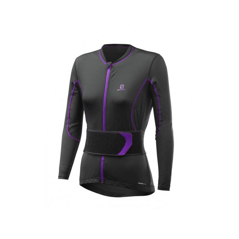 XS SECONDSKIN FLEXCELL W Blk/Purple !17