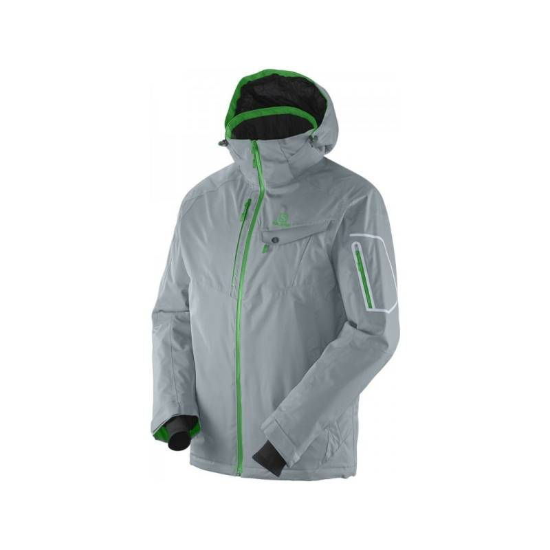 L CONTEST JACKET M SHADOW GREY