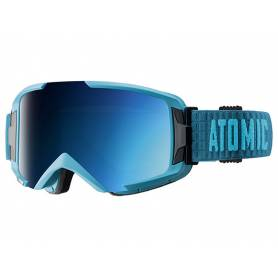 Gogle Atomic SAVOR ML BLUE/BLUE S3 16/17