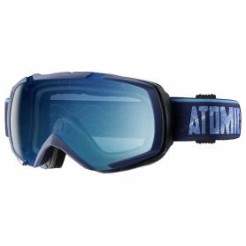 Gogle Atomic REVEL ML DARK BLUE/LIGHT BLUE S1