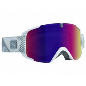 Gogle Salomon XVIEW WHITE/SOLAR INFRARED 15/16