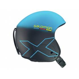Kask SALOMON X RACE SLAB Blue/Black Mat 16/17