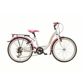 """Rower MAXIM 20"""" MJ 4.1 6-biegowy (11"""") biały"""
