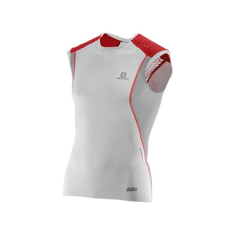 Salomon S-LAB EXO TANK M White/ALU/RD