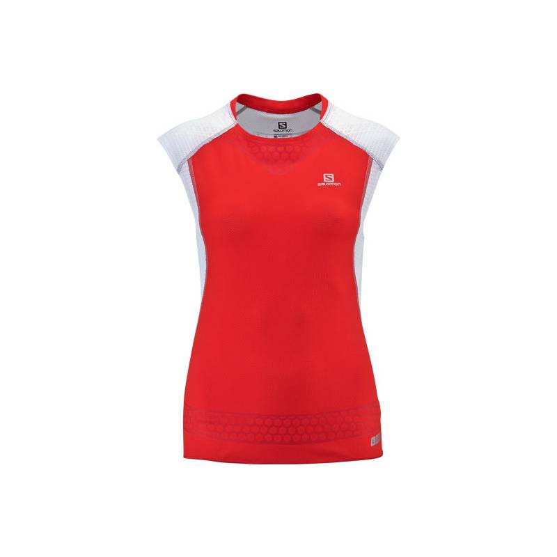 Salomon S-LAB EXO TANK W RACING RED/WH