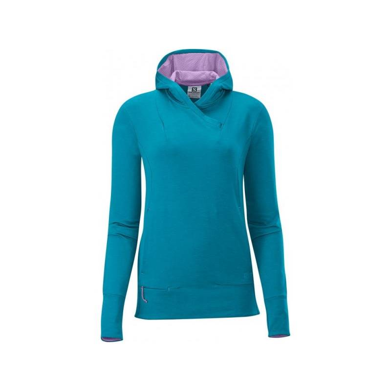 Salomon GUALEA PULLOVER W BOSS BLUE