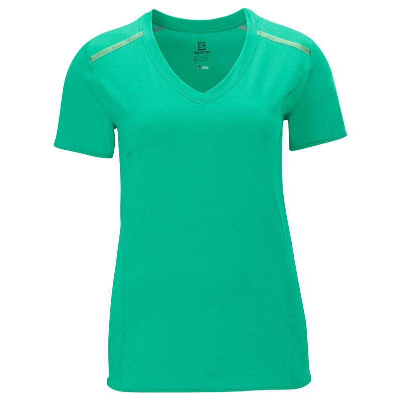 Salomon PARK TEE W POPSICLE GREEN 2014