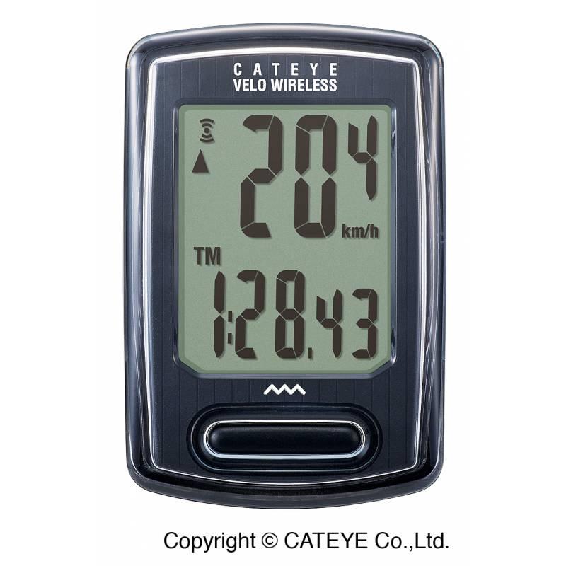 Cateye Licznik VELO WIRELESS CC-VT230W czarny