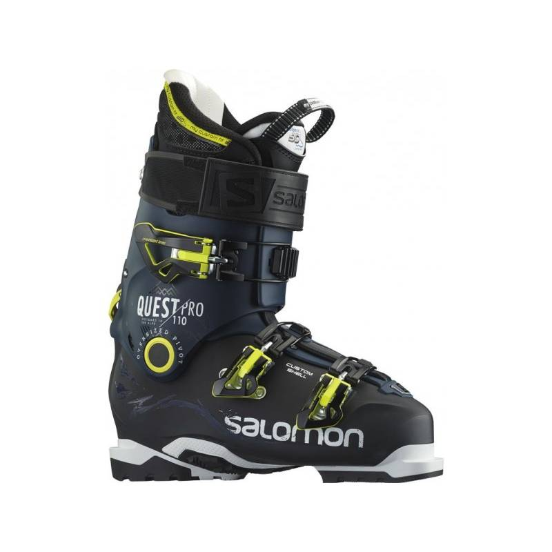 Salomon QUEST PRO 110 BLACK/DARK BLUE 15/16