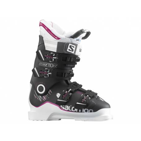 Buty Salomon X Max 110 W BLACK/White/Rubine Red 16/17