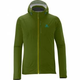 Salomon VEYRIER STRETCH JACKET M DARK SEAWEED 2014