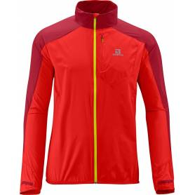 Salomon FAST WING JACKET M MATADOR-X/VICTORY RED 2014