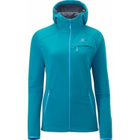 Salomon JUNIN JACKET W BOSS BLUE/CLD