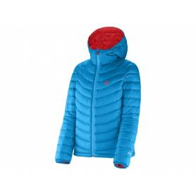 Kurtka narciarska Salomon HALO HOODED JKT W METHYL BLUE