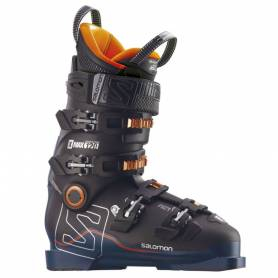 Salomon X MAX 120 Black/Petrol/Orange 2018