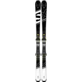 Narty Salomon X-MAX X12 + Z12 Speed Black/Wht 2018