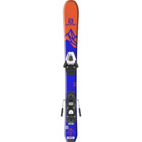 Narty Salomon QST MAX Jr XS + C5 SR Orange/Dark 2018