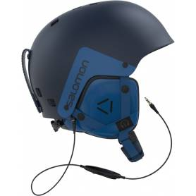 Kask SALOMON BRIGADE AUDIO NAVY
