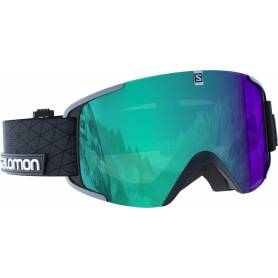 Gogle Salomon XVIEW PHOTO BK/All Weather Blu