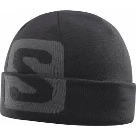 Salomon BIG FOURAX BEANIE Bk/Forged Iro