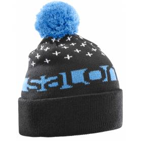 Salomon FREE BEANIE Black/Hawaiian/Wh