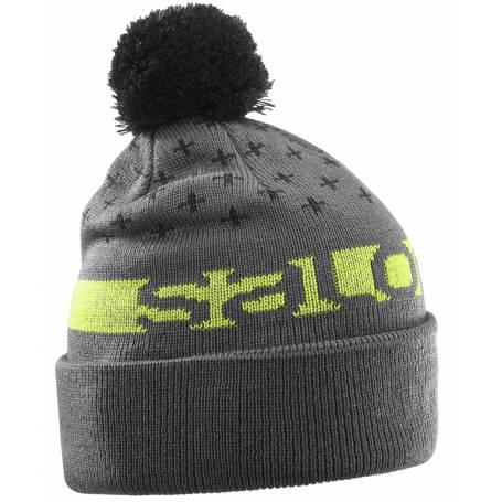 Salomon FREE BEANIE Forged Iro/Bk/Acid Li