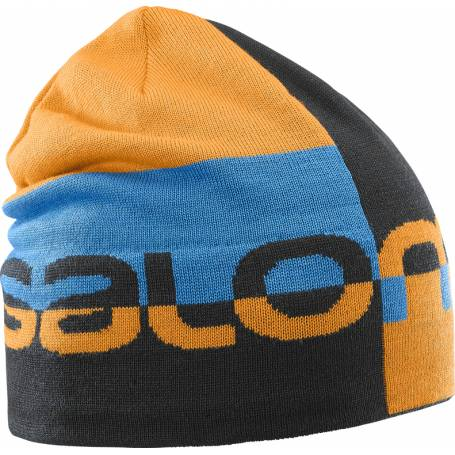 Salomon GRAPHIC BEANIE Bk/Turmeric/Hawaii