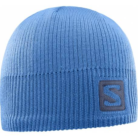 Salomon LOGO BEANIE Myconos Blue