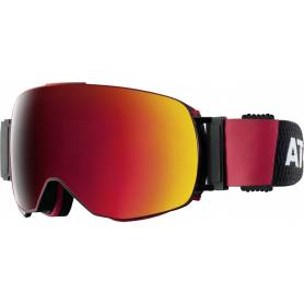 Gogle ATOMIC REVENT Q ML Black-Red/Red