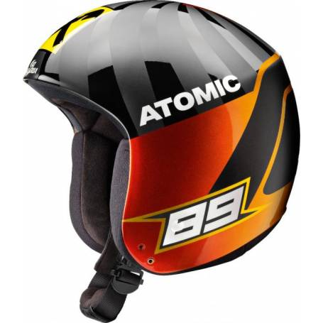 Kask Atomic REDSTER REPLICA Marcel BLACK