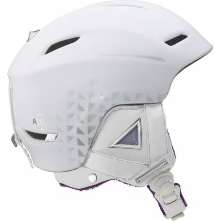 Kask SALOMON AURA C.AIR WHITE