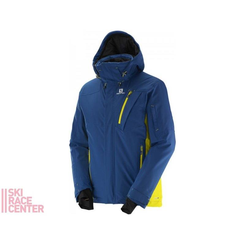 Salomon ICEGLORY JACKET M Midnbl/LIGHT AL